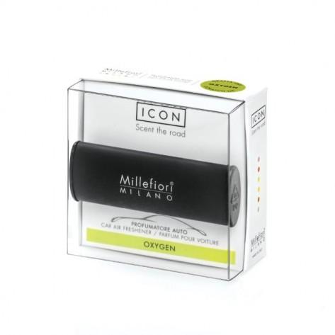 MILLEFIORI CAR AIR FRESH.CLASSIC BLACK OXYGEN